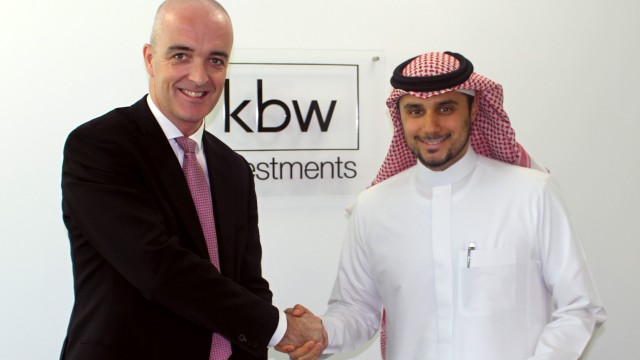 KBW Investments signs partnership agreement with Faithful+Gould